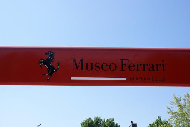 Muzeum Ferrari Maranello Włochy