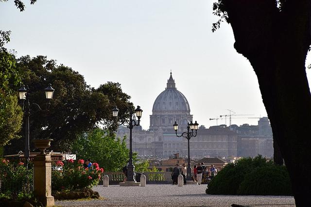 Taras widokowy, Pincio, Rzym, Włochy